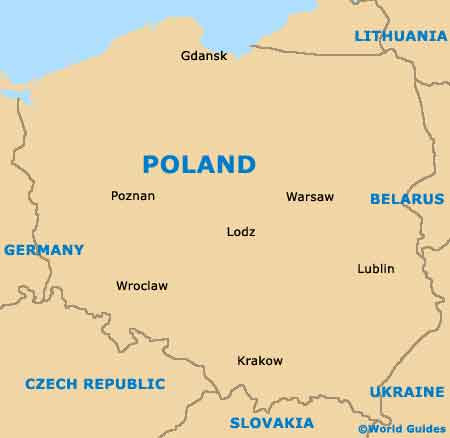 Lodz Poland Map Lodz Poland Map | Time Zone Map