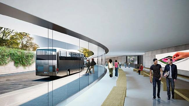 Transport links will be provided for employees. Source: City of Cupertino Source: Supplied