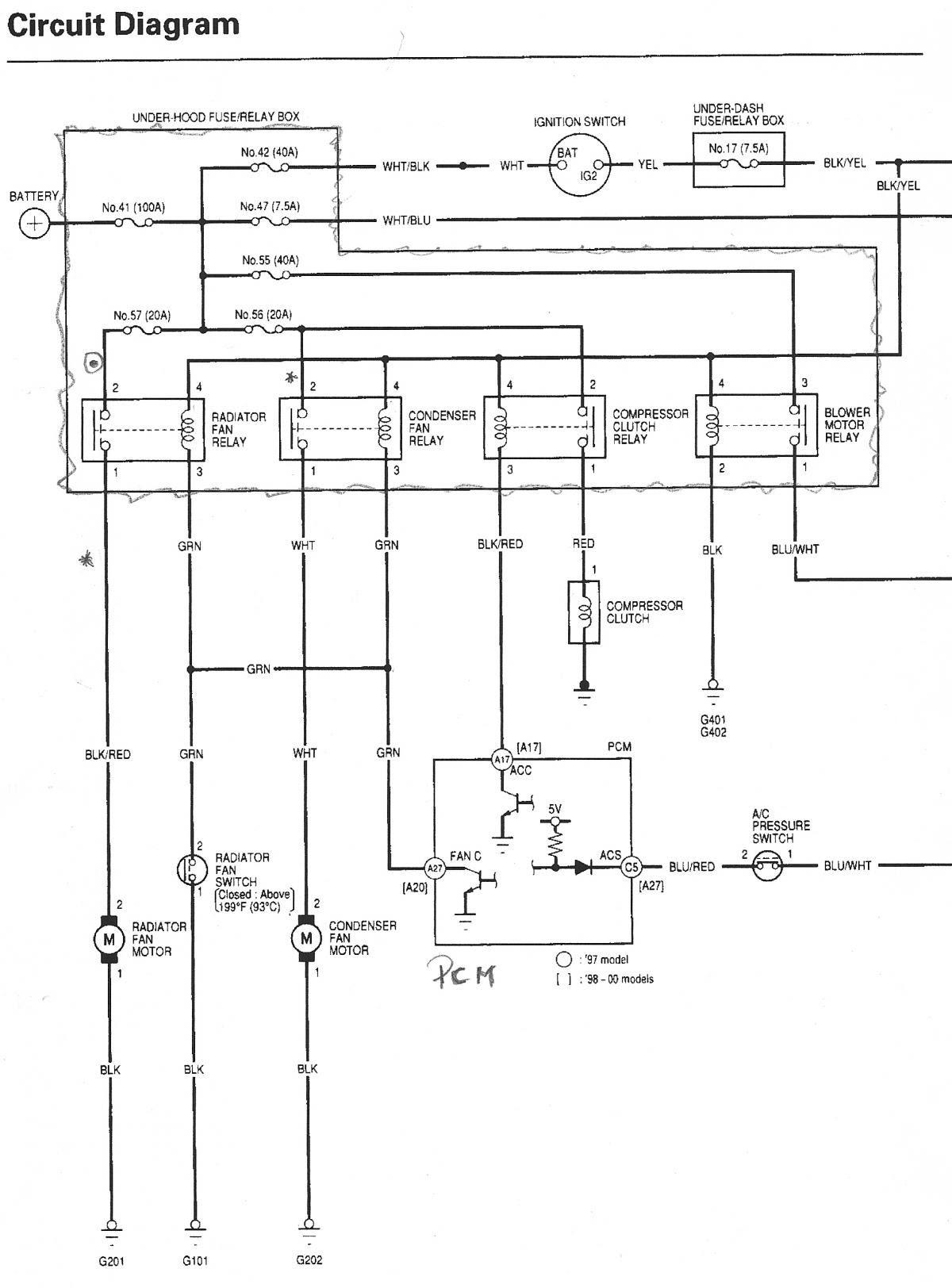 03829b 2003 Honda Cr V Wiring Diagrams Wiring Library