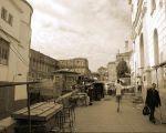 une photo du marche de la place negrier. A droite de l entree du consistoire juif ou se trouvait la synagogue de rabi tsion