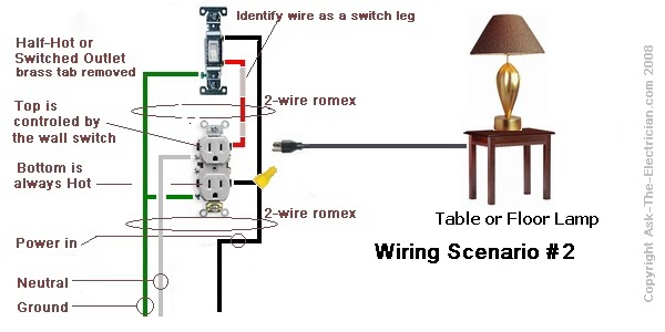 21 Awesome Half Switched Outlet Wiring Diagram