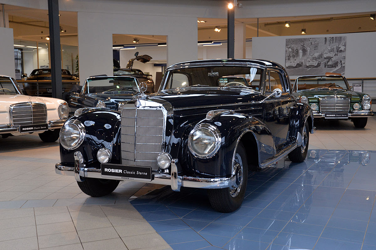 Mercedes-Benz 300 SC Coupé W 188 - Classic Sterne