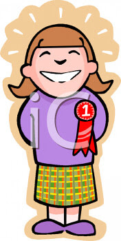 0511-0903-1003-0804_Proud_Girl_with_a_1st_Place_Ribbon_on_Her_Shirt_clipart_image.jpg