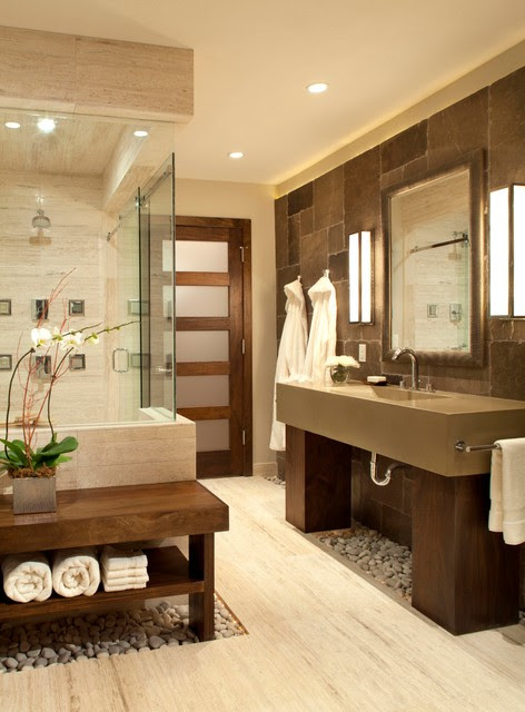 Personal Spa Bath - contemporary - bathroom - denver - by Ashley ...