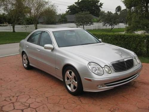 Sell used 2003 Mercedes Benz E500 Sport in Miami, Florida ...