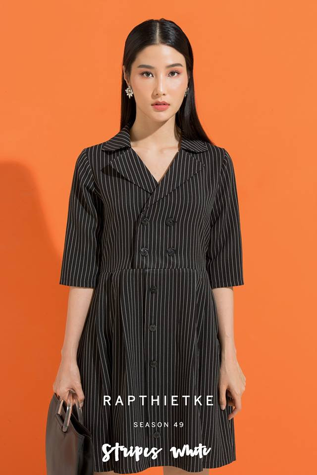 Đón thu ngọt ngào cùng những thiết kế váy liền tay lỡ mà giá chưa quá 700 ngàn đến từ các thương hiệu Việt - Ảnh 15.