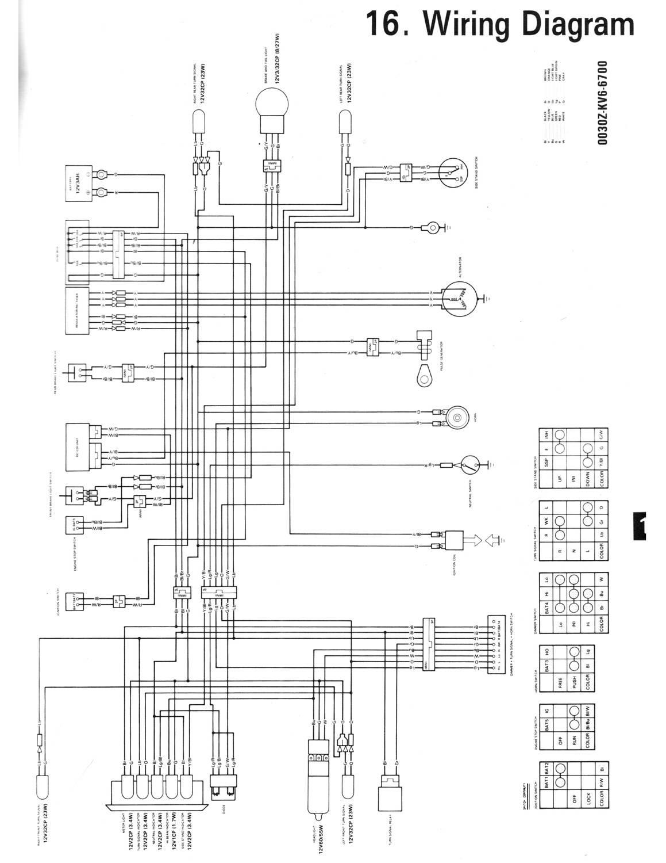 Electrical Wiring Diagram 250cc Dune Buggy