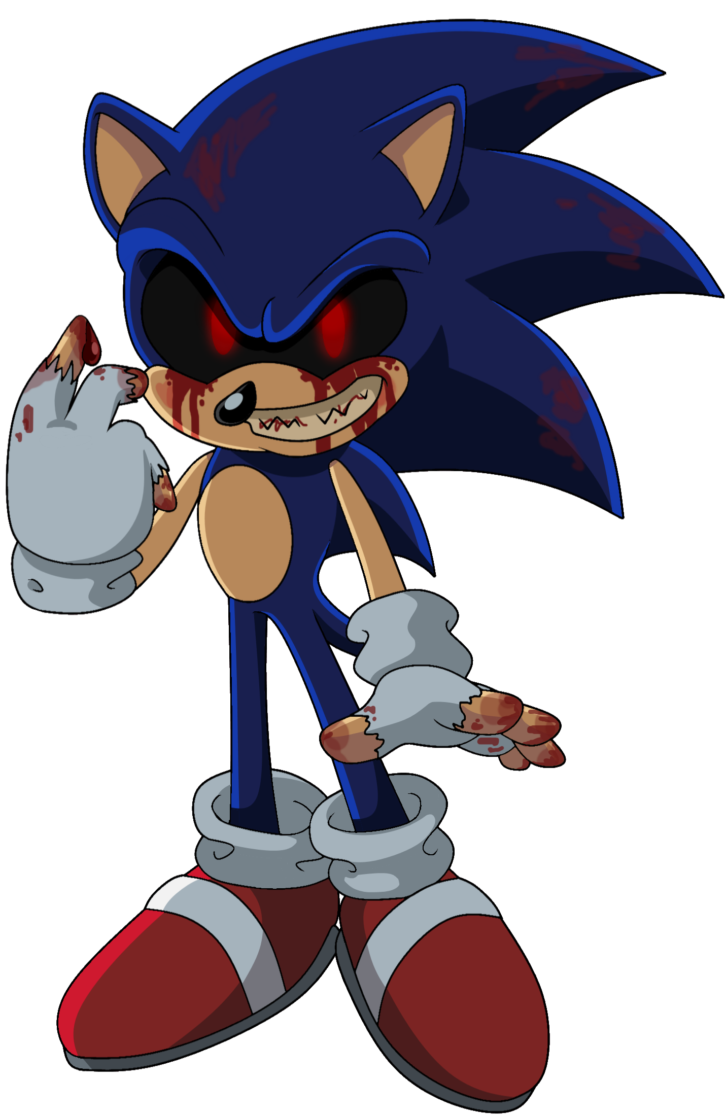 Sonic.exe by SiIent-AngeI on DeviantArt