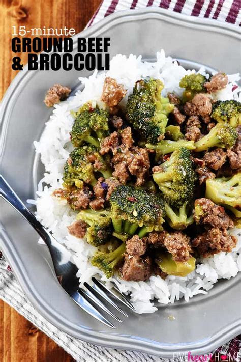 ground beef broccoli recipe