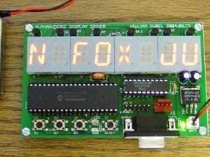 Trình điều khiển hiển thị LED phân đoạn 15 chữ số với PIC16F874P