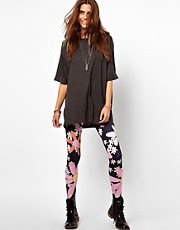 Leggings con estampado floral Flower Power de Your Eyes Lie