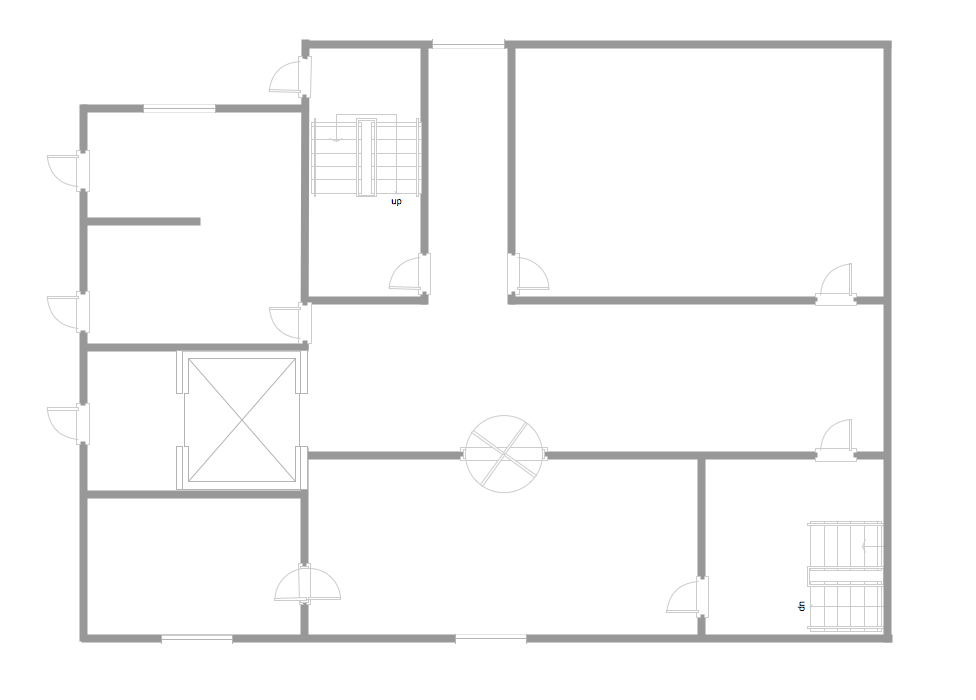 Simple lay out plan for mini restaurant house furniture
