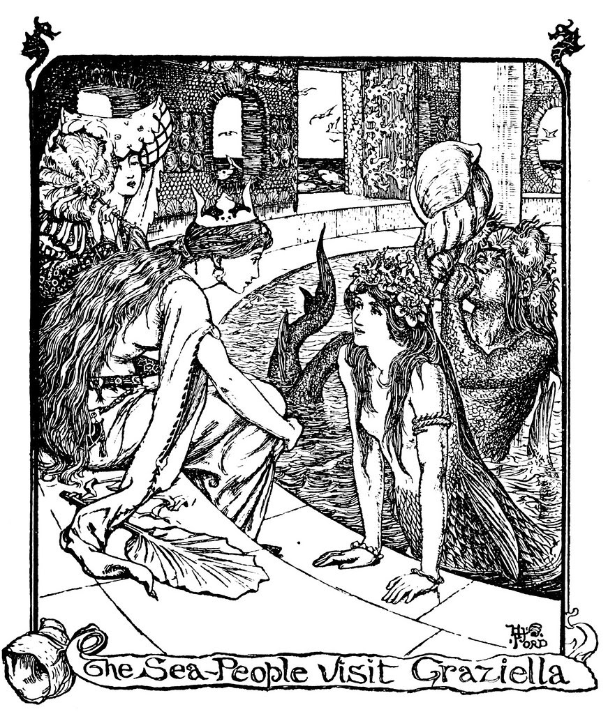 Henry Justice Ford - The grey fairy book edited by Andrew Lang , 1905 (illustration 1)