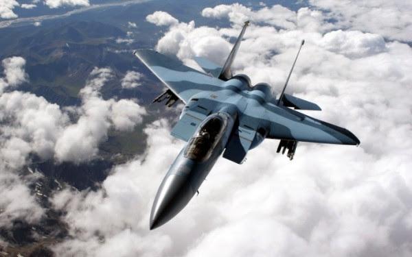 F-15C con los colores de los enemigos de los EE.UU..