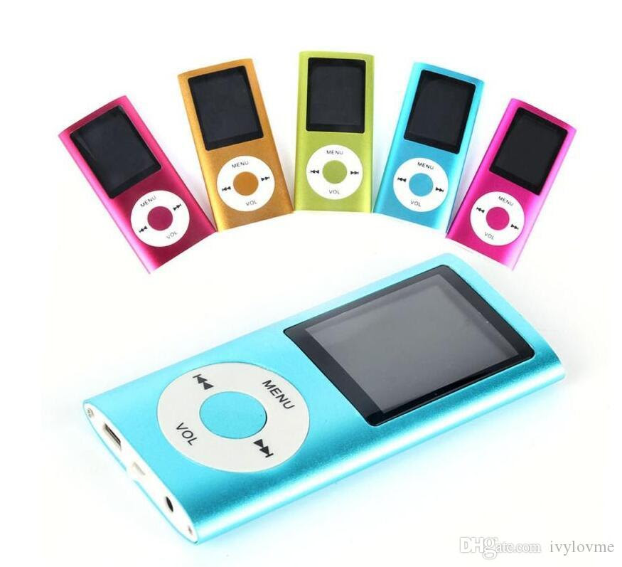 Best Cheapest Mp3 Colorulf Mp4 Player With Fm Radio Video&Micro Sd Card Tf Card Slot+Speaker 4th ...