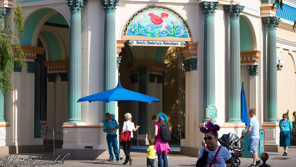 Disneyland Resort, Disney California Adventure, Little Mermaid, Refurbishment, Refurb