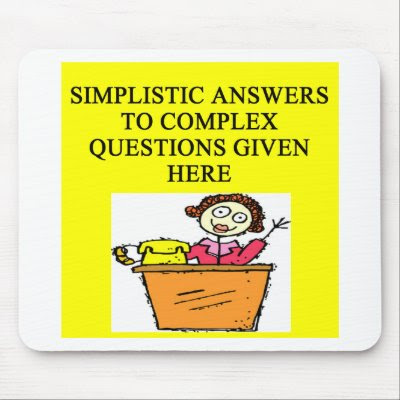 questions and answers joke mousepad by jimbuf. more funny desfigns in ...