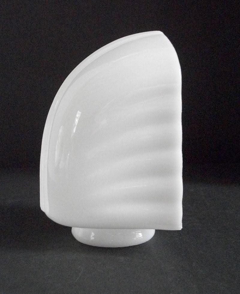 Vintage Milk Glass Bathroom Light Fixture by lakesidecottage