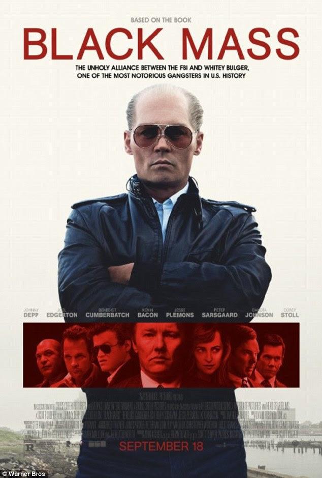 Chega aos cinemas do Reino Unido em 27 de novembro!  A cinebiografia Boston-set - também com Benedict Cumberbatch, Joel Edgerton, e Dakota Johnson - já acumulou $ 49.1M nas bilheterias até agora