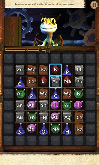 Screenshots of the School of dragons: Alchemy adventure for Android tablet, phone.