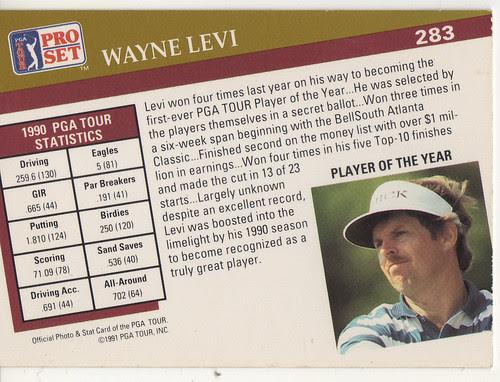 Wayne LEvi back