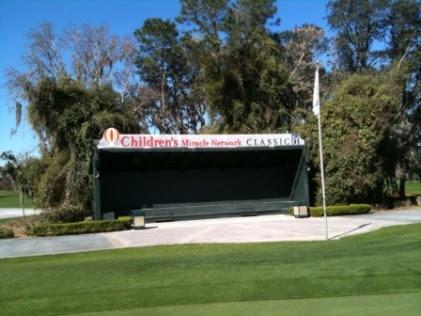 scoreboard at Child Network Magnolia