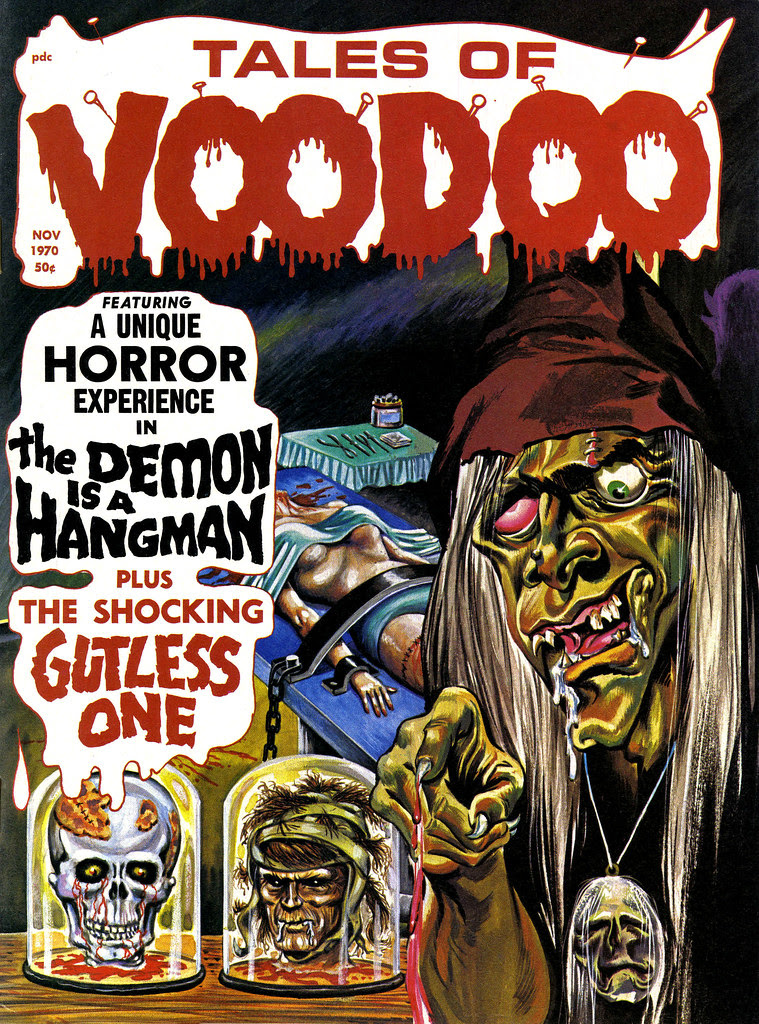 Tales of Voodoo Vol. 3 #6 (Eerie Publications 1970)