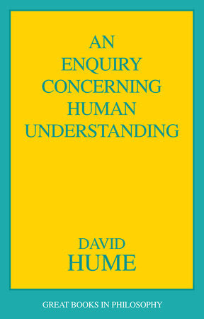 The cover of the book An Enquiry Concerning Human Understanding