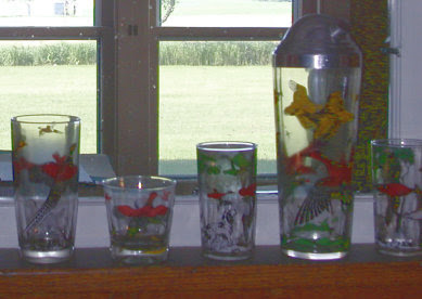 duck and pheasant glasses