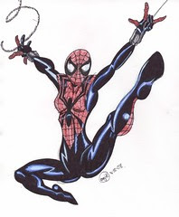 Spider-Girl Illustration 3