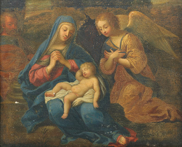 Circle of Jacques de Stella (Lyons 1596-1657 Paris) The Rest on the Flight into Egypt