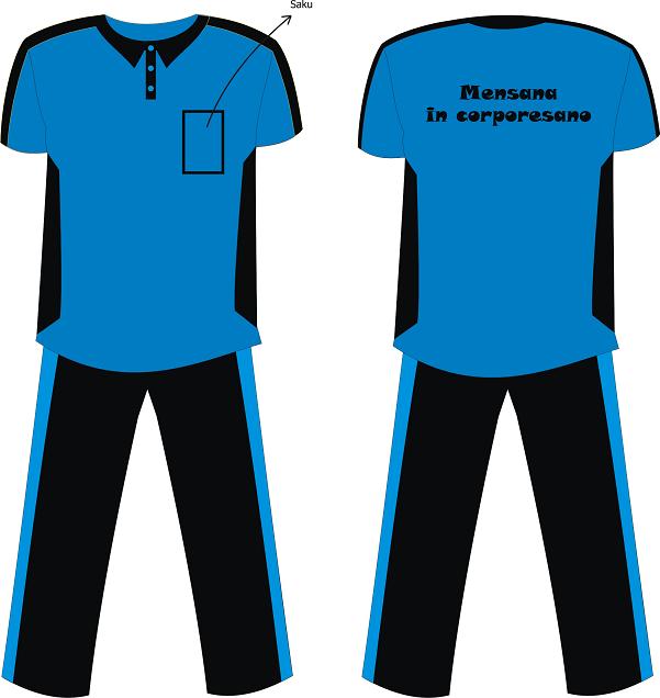 Trang phục thể thao của giáo viên trường Nusagates