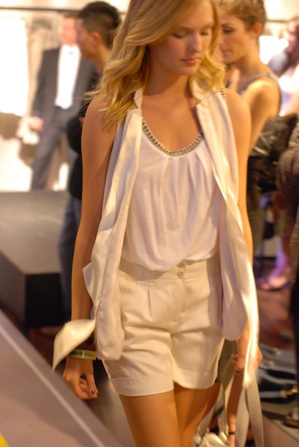 Fashion Model, ESPRIT Icon store launch Sydney