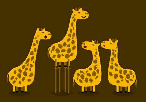 Flirting Tricks for Giraffes