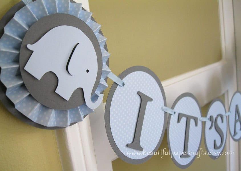 Boy Elephant Baby Shower Decorations Baby Interior Design