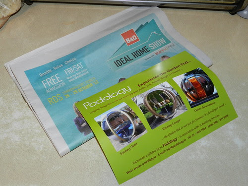 Ideal Home Show brochures