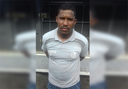 Jamilton foi preso por guarnições do Soint e Peto (Foto: Ubatã Notícias)