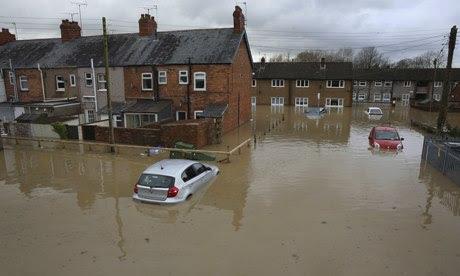 UK Flood Warnings In Northern United Kingdom As Heavy Rain Storms Hit