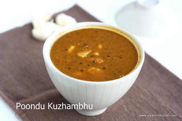 poondu kuzhambhu 3