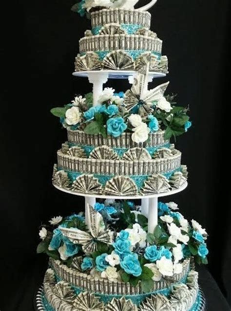 Wedding Money Cake Front View 9 445x600 (445×600