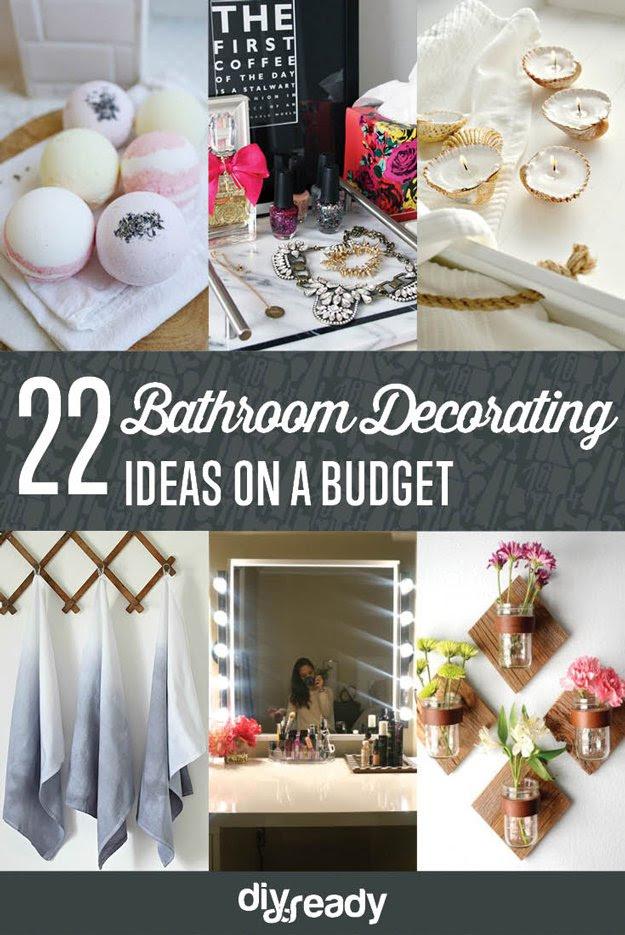 DIY Bathroom Decorating Ideas | Shamco Property Management
