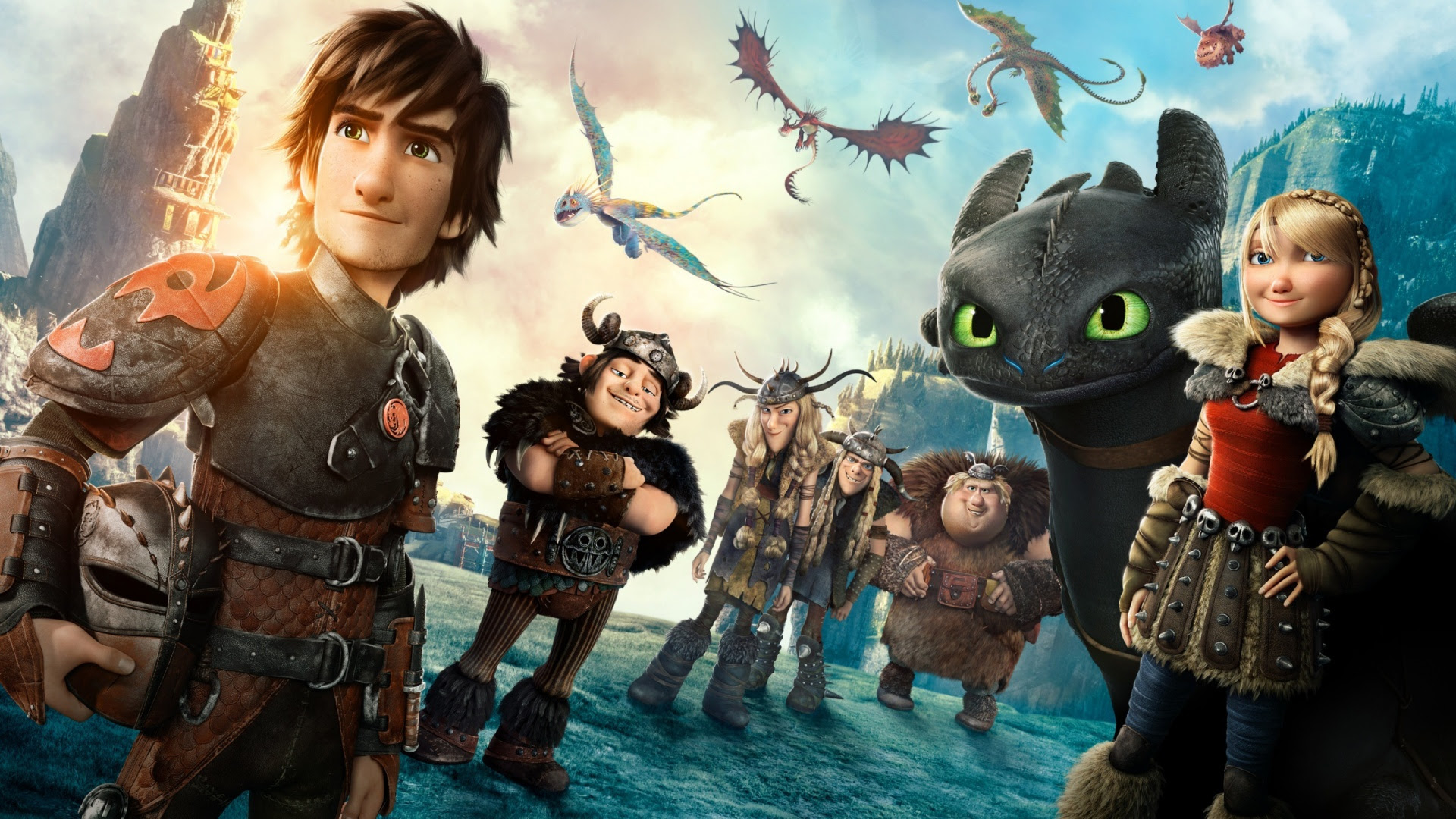 How To Train Your Dragon 2 Movie Wallpapers In Jpg Format For Free