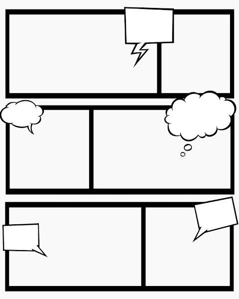 Comic Book Template For Kids