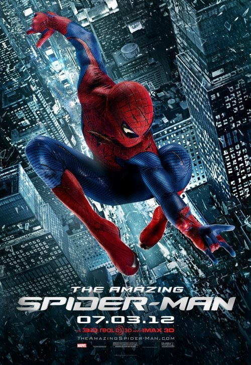 póster de The amazing spiderman