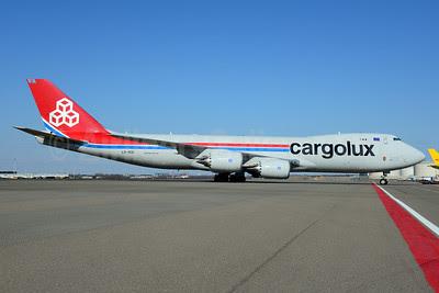 Cargolux Airlines International (Luxembourg) Boeing 747-8R7F LX-VCG (msn 35812) AMS (Ton Jochems). Image: 911603.