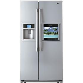 LG Refrigerator TV