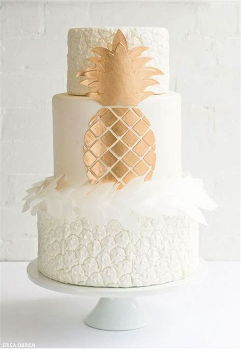 Les 50 plus beaux wedding cakes de Pinterest   Tropical