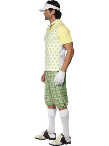 golfing golfer sports man fancy dress adult pub golf mens