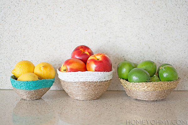 How to Make String Bowls