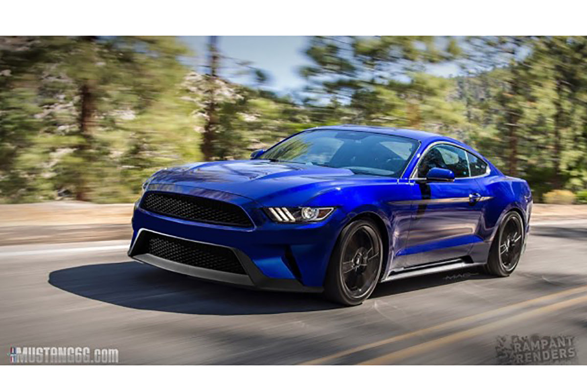 Do You Dig This Rendering Of The 2018 Mustang?